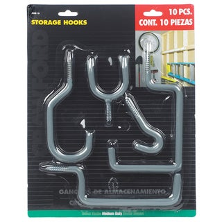 Lehigh Group OR10-6 Storage Hook Set 10 Piece