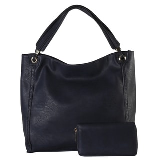 Rimen & Co. Faux Leather Tote Bag and Wallet