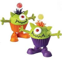 Imperial Home Silly Feet Silicone Cupcake Holders