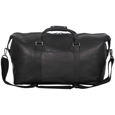 Kenneth Cole Reaction Colombian Leather 20 Single Compartment Urban Professional Top Zip Carry-on Travel Duffel Bag