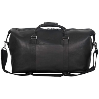 Kenneth Cole Reaction Colombian Leather 20 Single Compartment Urban Professional Top Zip Carry-on Travel Duffel Bag (2 options available)