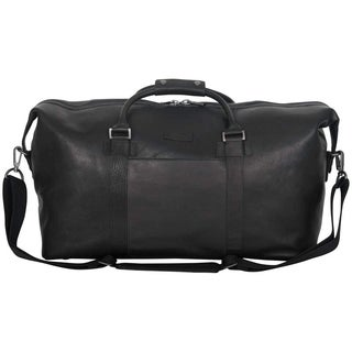 Kenneth Cole Reaction Colombian Leather 20in Single Compartment Carry-On Travel Duffel Bag