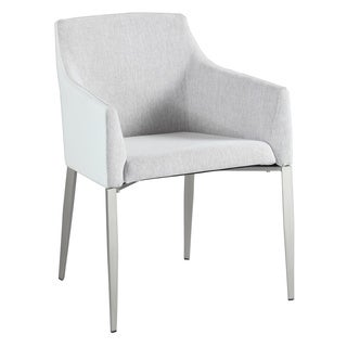 Somette Kathy Grey Accent Dining Chair