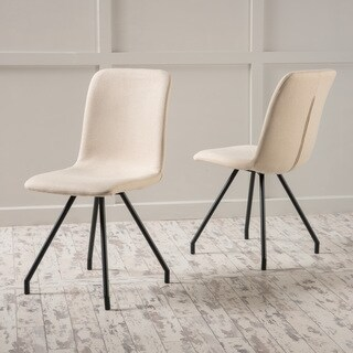 Bryson Fabric Dining Chair (Set of 2) by Christopher Knight Home