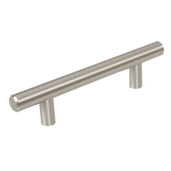 GlideRite 3.75-inch CC 6-inch Long Solid Steel Thick Bar Handle Pulls (Pack of 10 or 25)