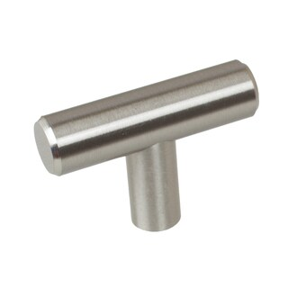 GlideRite 2-inch Solid Steel Thick T Bar Handle Knob (Pack of 10 or 25)