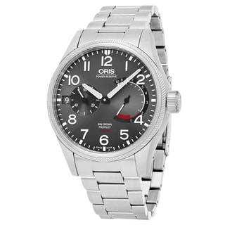 Oris Men's 111 7711 4163 MB 'Big Crown' Anthracite Dial Stainless Steel Swiss Automatic Watch