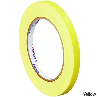 Tape Logic Plastic 1/2-inch x 60 Yard 4.9-millimeter Colored Masking Tape Rolls (Case of 72)