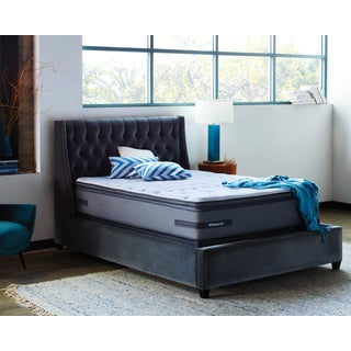 Sealy Posturepedic Pacheco Pass Plush Euro Pillowtop California King-size Mattress Set