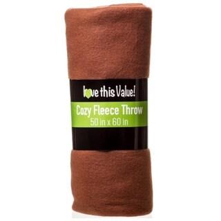 50 x 60 Inch Soft Cozy Fleece Throw