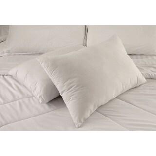Jumbo White Nano Feather Pillow (Set of 2)