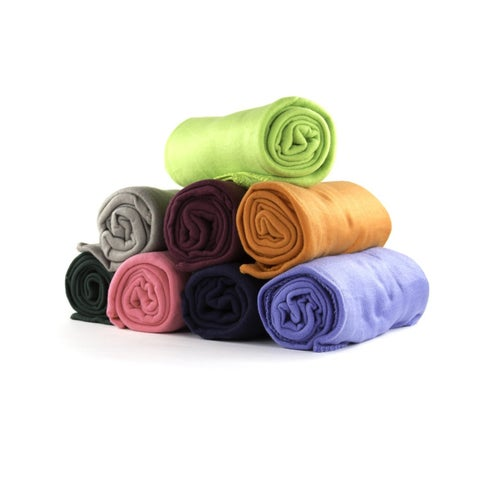 50 x 60 Inch Soft Wholesale Fleece Blankets (Set of 12)