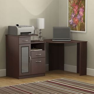 Vantage Harvest Cherry Corner Desk