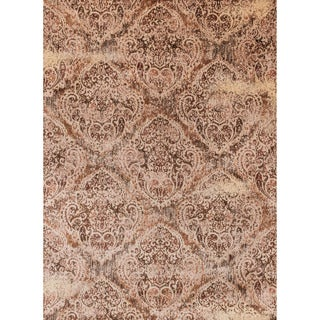 Contessa Tobacco/ Antique Ivory Rug (13' x 18')