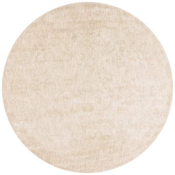 Lucca Floral Ivory Rug (9'6 x 9'6 Round)