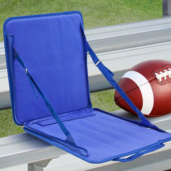 Blue Folding Outdoor Stadium Chair