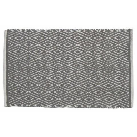 Grey Diamond Rug