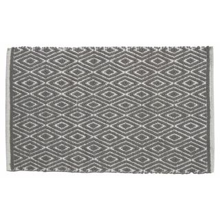 Grey Diamond Rug