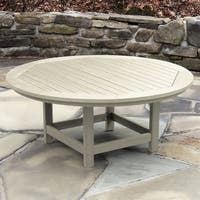 "Highwood Eco-Friendly Round 48"" Conversation/ Coffee Table"