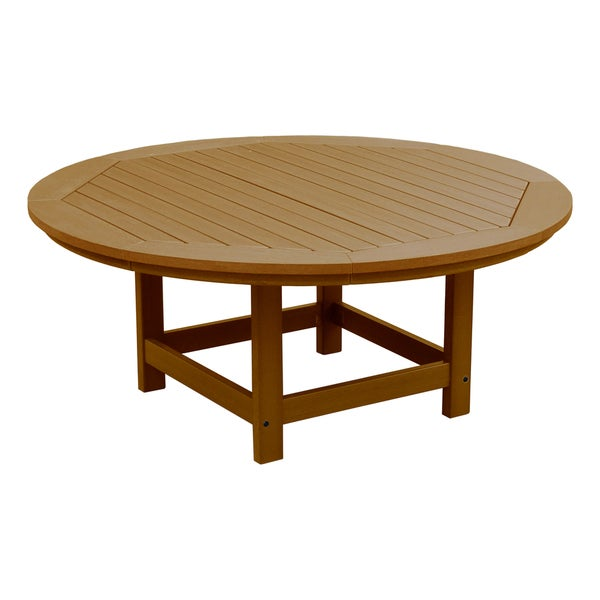 High Quality Round 48 Inch Diameter Conversation/ Coffee Table   Free Shipping Today    Overstock.com   19633713