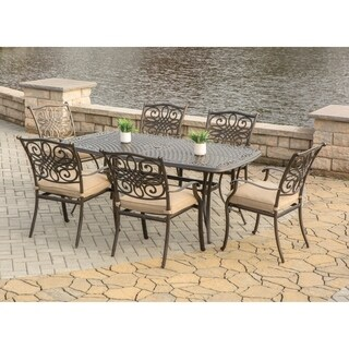 Hanover Outdoor Traditions 7-Piece Outdoor Dining Set