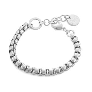 Isla Simone - Silver Electroplated Venetian Link Bracelet
