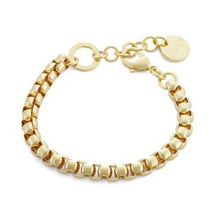 Isla Simone - Gold Plated Venetian Link Bracelet