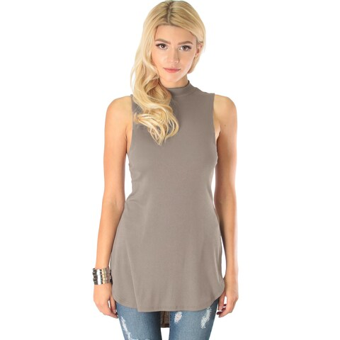 Flirting with Danger Women's Ribbed Cutout Top