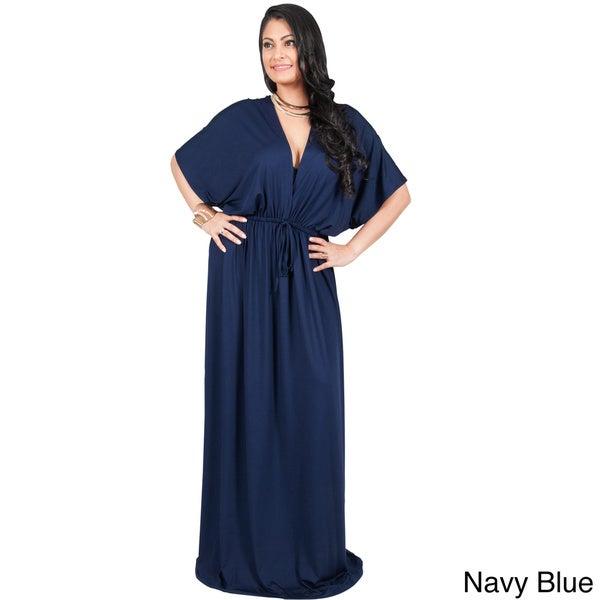 Maxi dress kimono style maxi