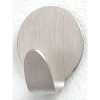 Spectrum Diversified 78271 Brushed Nickel Round Adhesive Hook