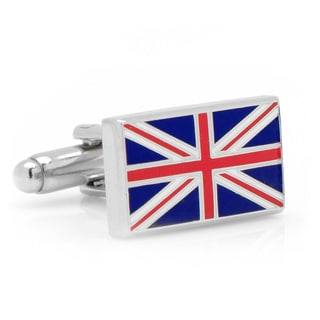 Cufflinks Inc British Flag Metal Cufflinks