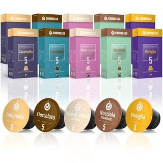 Gourmesso Flavor Bundle - 100-280 Nespresso compatible coffee capsules