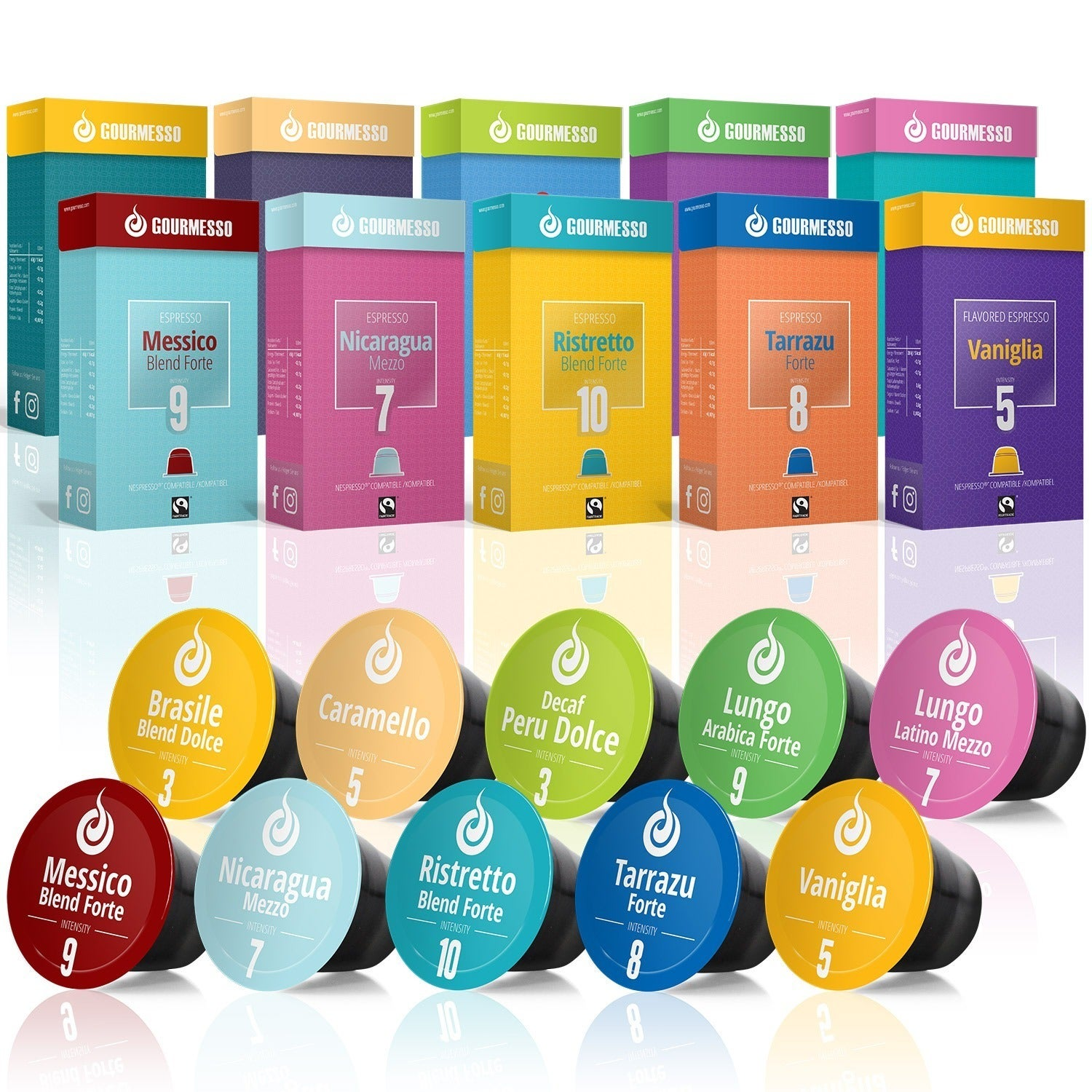 Ahead Gourmesso Trial Bundle Nespresso Compatible Espress...