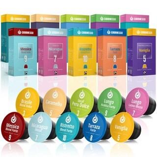 Gourmesso Trial Bundle Nespresso Compatible Espresso Capsules