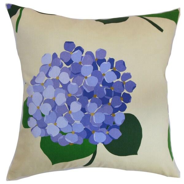 Batuna Floral Euro Sham Lavender
