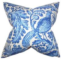 Cadeau Floral Euro Sham Blue