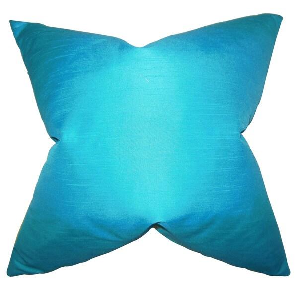 Baldwin Solid Euro Sham Turquoise