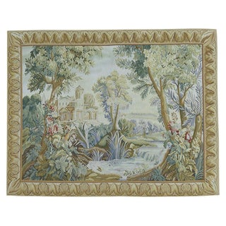 Aubusson Tapestry-design Wool Oriental Hand-woven Rug (4'9 x 6')