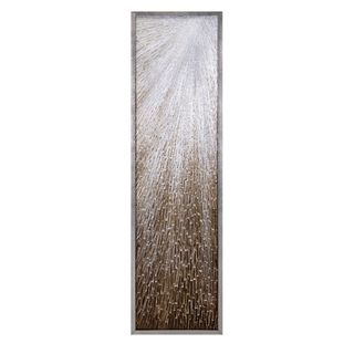 Haruki Wall Décor with Frame (71 inches long x 19.75 inches high x 2.25 inches wide)