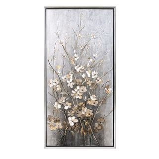 Astrid Painting with Frame (47.25 inches long x 23.75 inches high x 1.75 inches wide)