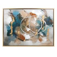 Coventia Wall Décor with Wood Frame (35.5 inches long x 47.5 inches high x 1.75 inches wide)