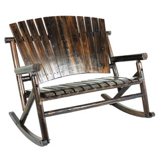 Char-log A Product of Leigh-country TX93866 Char-Log Double Rocker