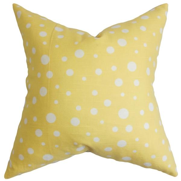 Bebe Polka Dots Pattern Yellow White