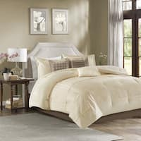 Madison Park Channing Ivory 7 Piece Comforter Set