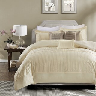 Madison Park Channing Ivory 6 Piece Duvet Cover Set (2 options available)