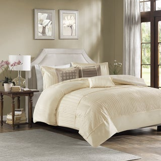 Madison Park Channing 6 Piece Duvet Cover Set Free