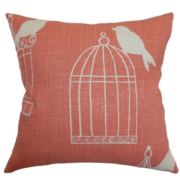 Alconbury Birds Euro Sham Melon