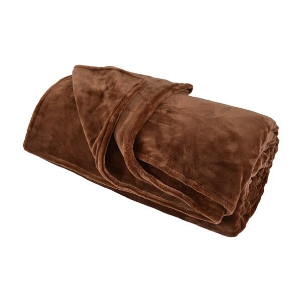 Comfy Bedding Double-layer Fleece Bed Blanket