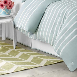 Jill Rosenwald Capri Stripe Bed Skirt