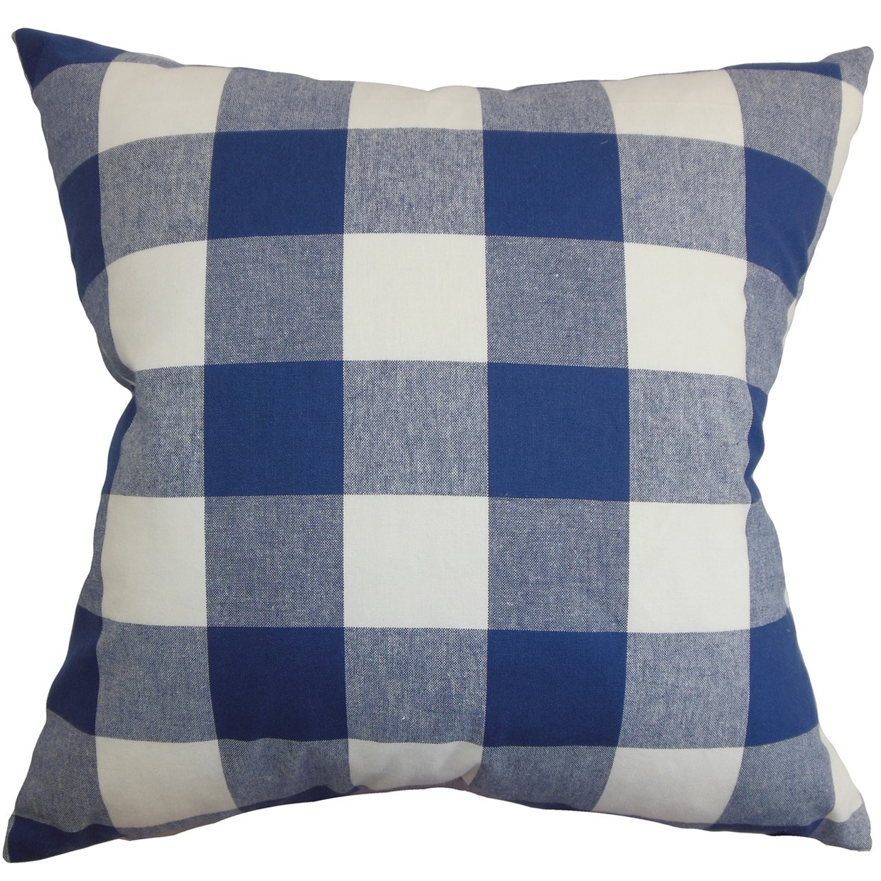 The Pillow Collection Keats Plaid Bedding Sham Aqua Euro//26 x 26